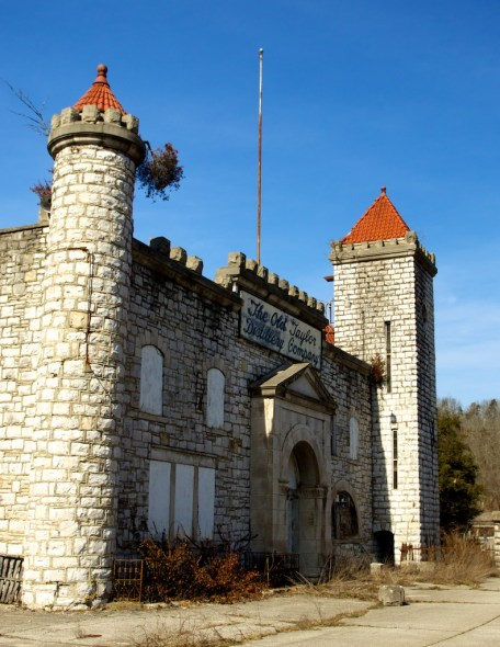The castle of Old Taylor was Kentucky's crown piece of whiskey architecture. Today, it's just a breeding ground for rats and snakes.