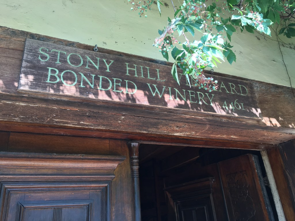 Stony Hill: Thoughts & Reviews on Deliciously Traditional Wines
