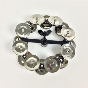 Meinl Hi- Hat Tambourine HTHH2BK