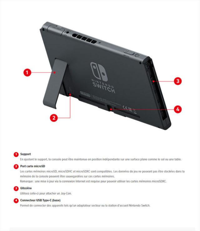 Nintendo Switch De Nouveaux Dtails Plus Techniques