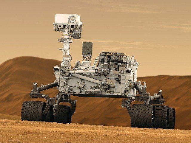Curiosity, l'un des rovers présents sur Mars