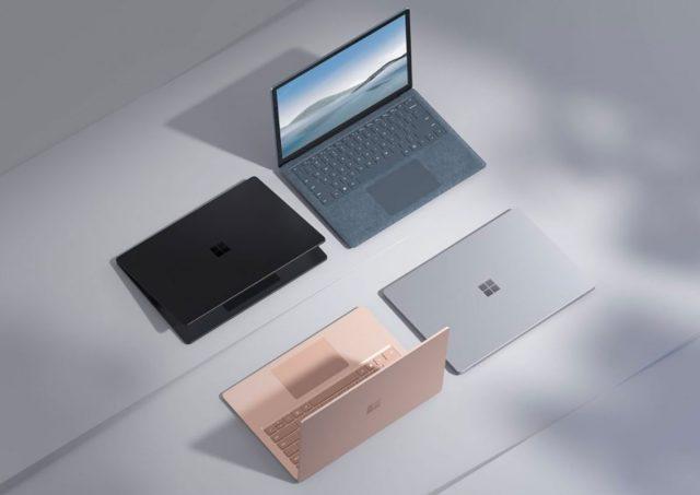 Le Surface Laptop 4 annoncé, avec pas mal de configs au choix