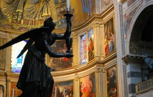 Pisa Duomo Angel Silhouette (www.free-city-guides.com)