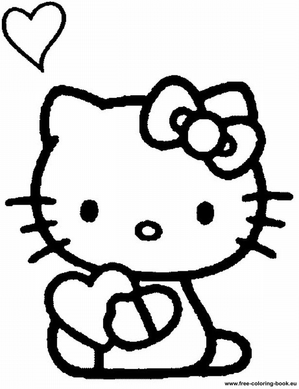 Coloring Pages Hello Kitty Printable Coloring Pages Online