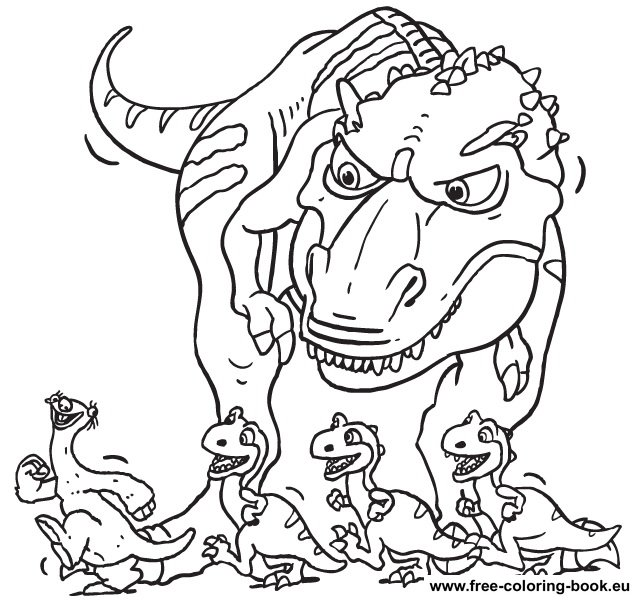 coloring pages ice age page 1 printable coloring pages online