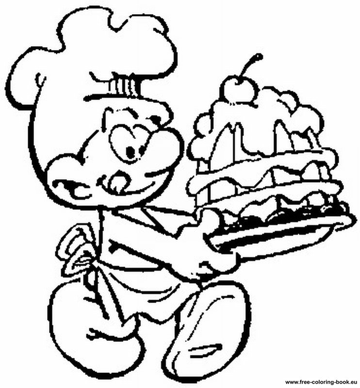 coloring pages the smurfs page 2 printable coloring pages online