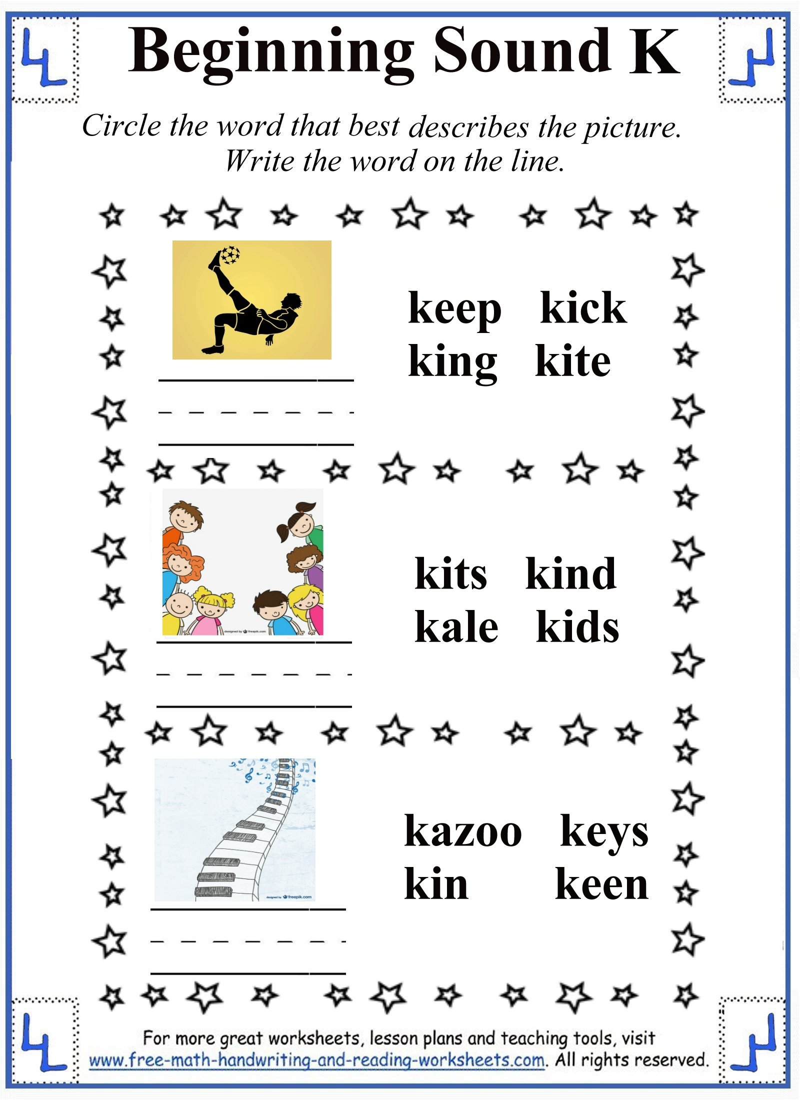 Aa Worksheet For Preschoolers Letter Sounds