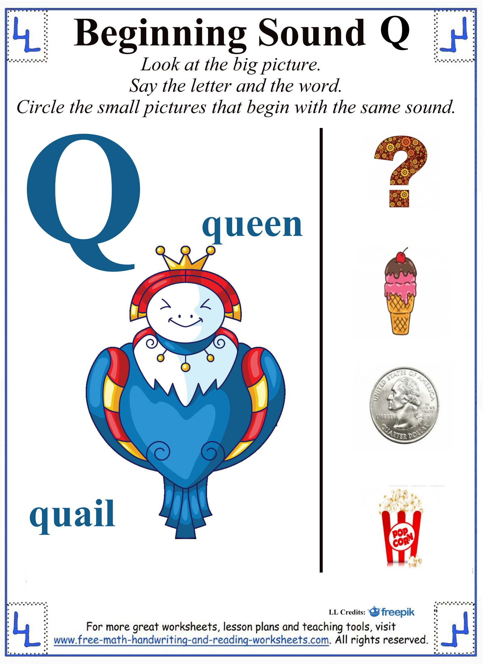 Objects That Start With The Letter Q