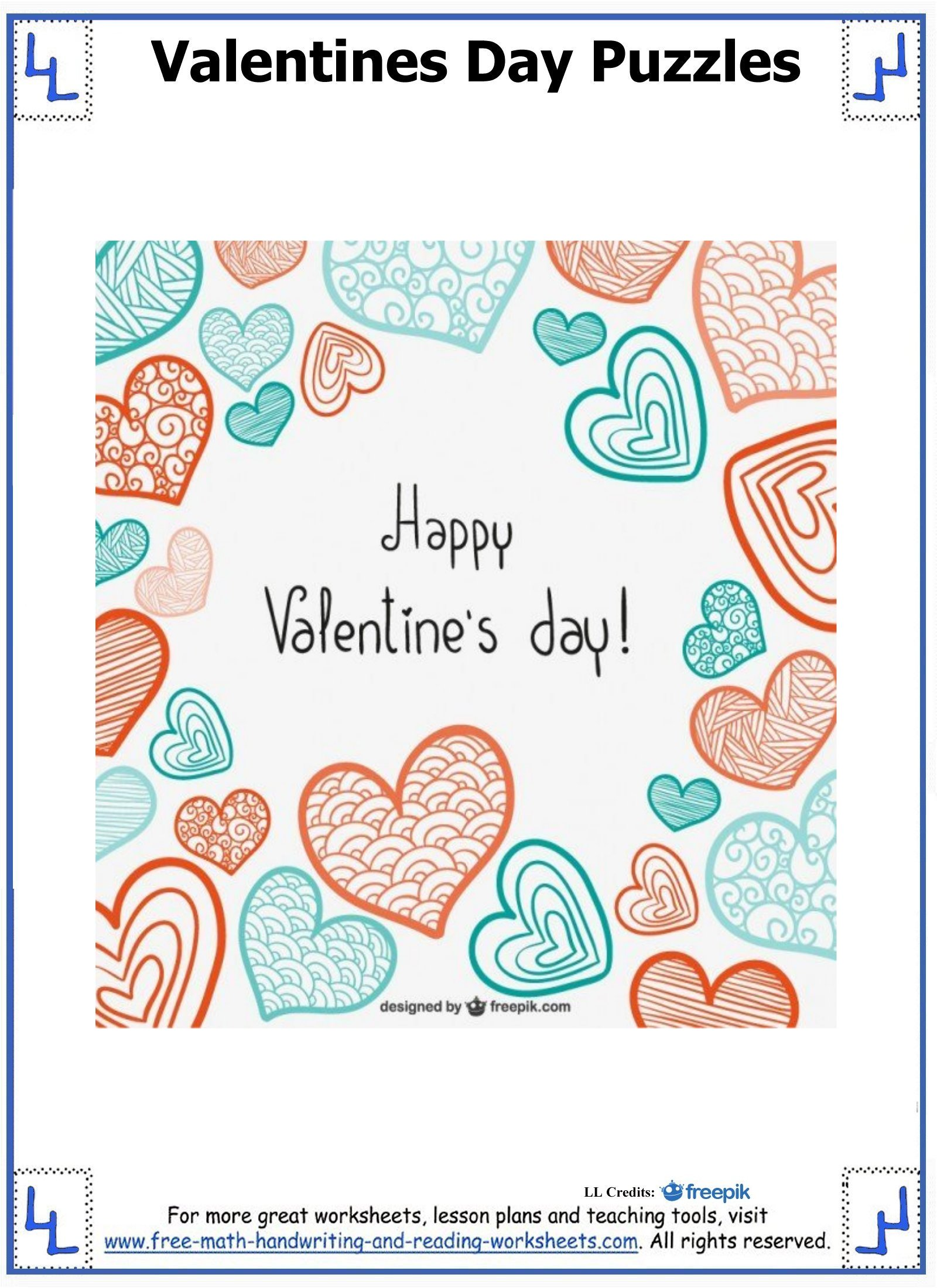 Valentine Day Puzzles