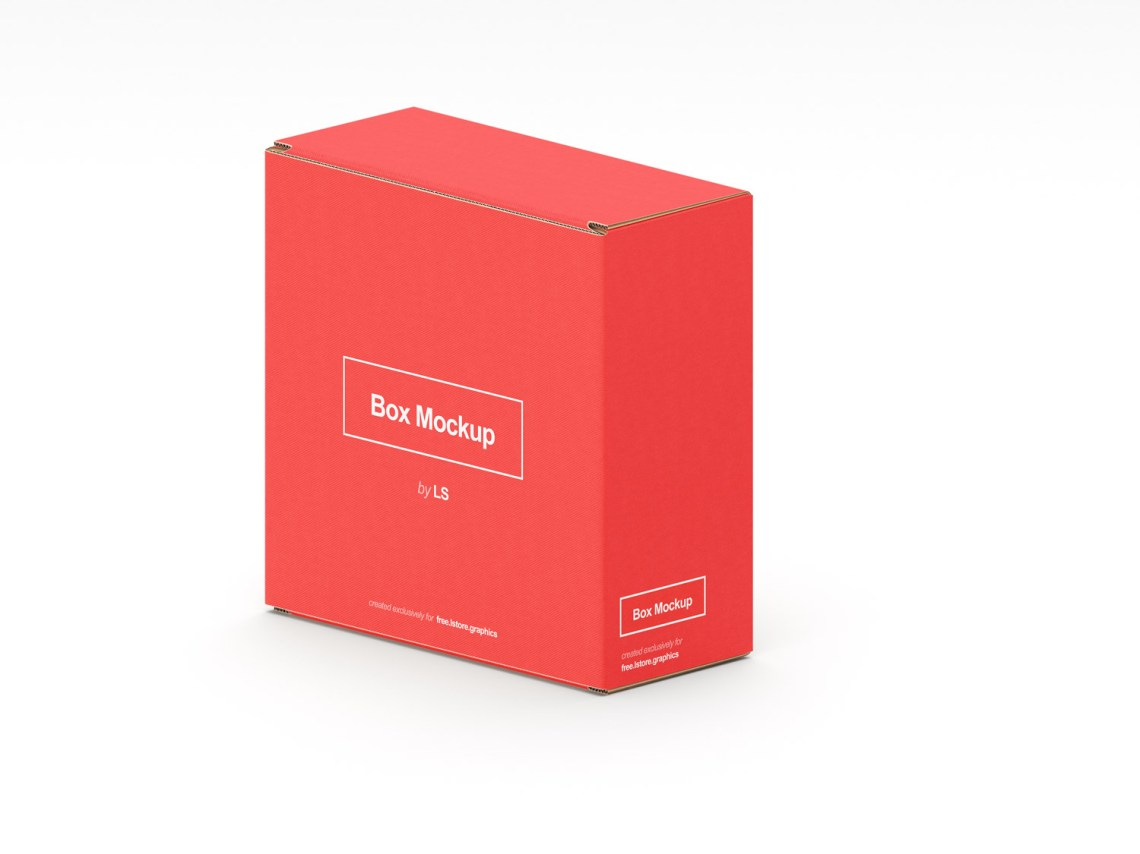 Download 7 PSD Cardboard Box Mockups | Free Mockup