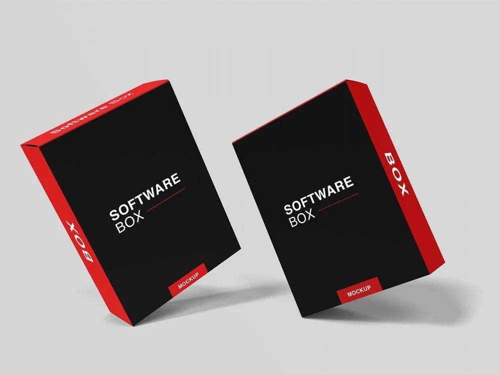 Download Free-Realistic-Software-Box-Mockup-11 | Free Mockup
