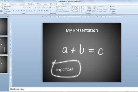 Using PowerPoint to Prepare Lesson Plans