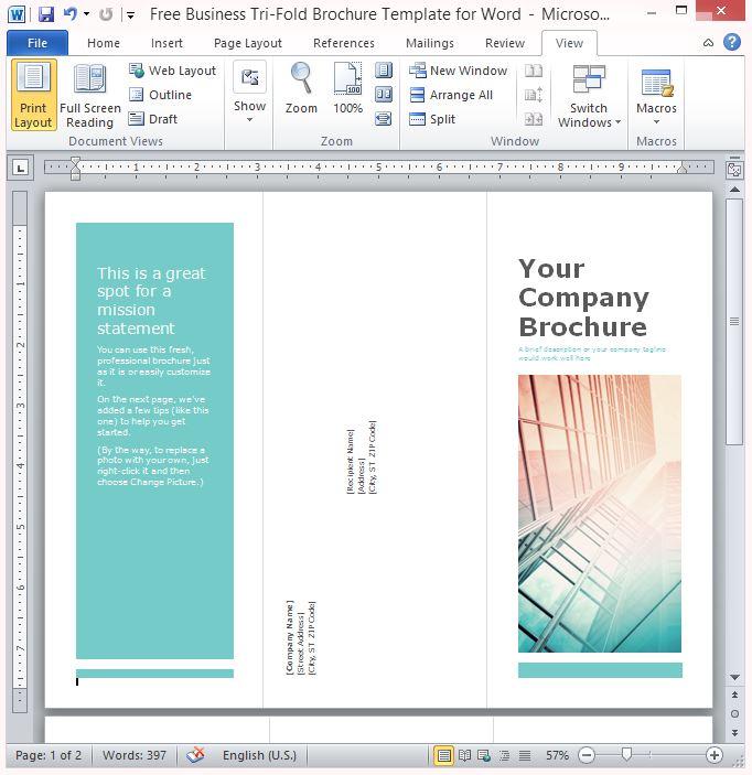 Leaflet Template Word Mac | Jidileaf co