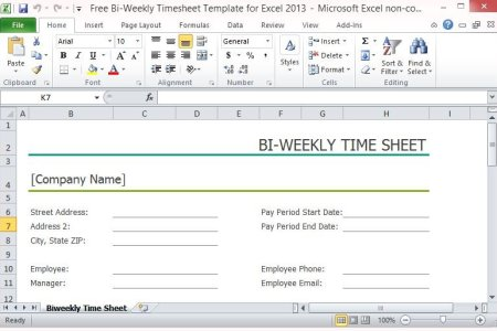 biweekly clock in clock out timesheet invoice templates 2019