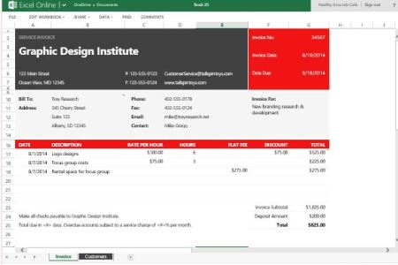 Financial Template For Business Plan Free Service Invoice Templates - Professional service invoice template