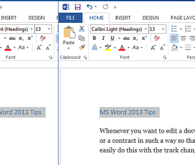 Expand And Collapse Text In Word 2013