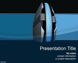 Web hosting PowerPoint Template