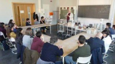 Scuola tecnica Max-Bill-Schule con il professor Hans-Jürgen Lindemann