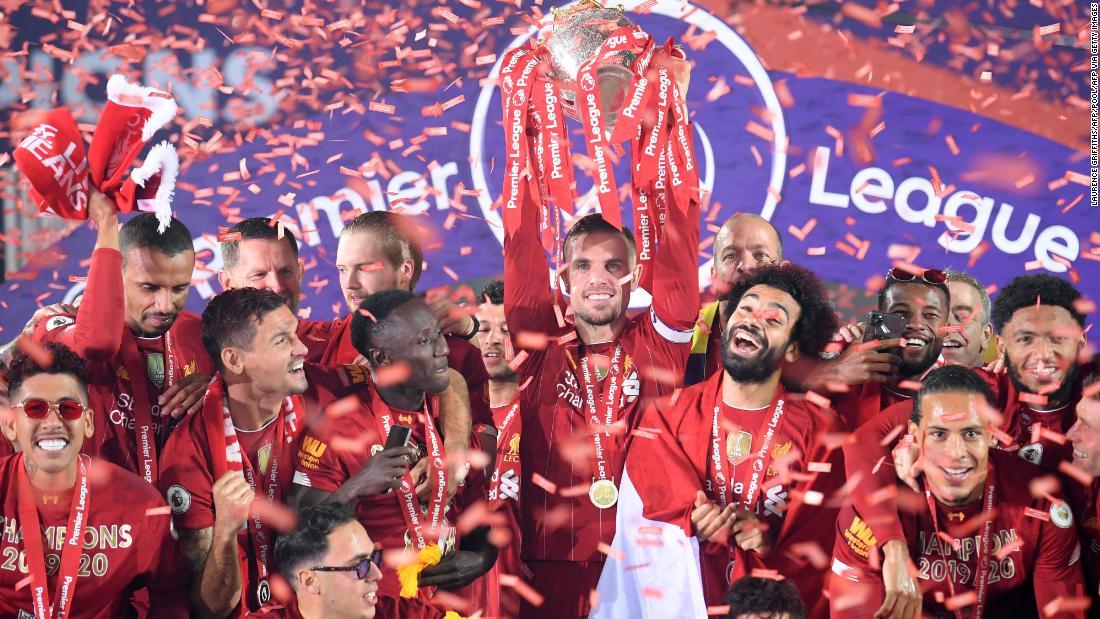 Liverpool ascensori 'speciale' titolo di Premier League dopo la ...