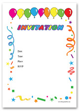Free Printable Invitations And