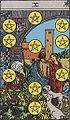 The Ten of Pentacles Tarot Card