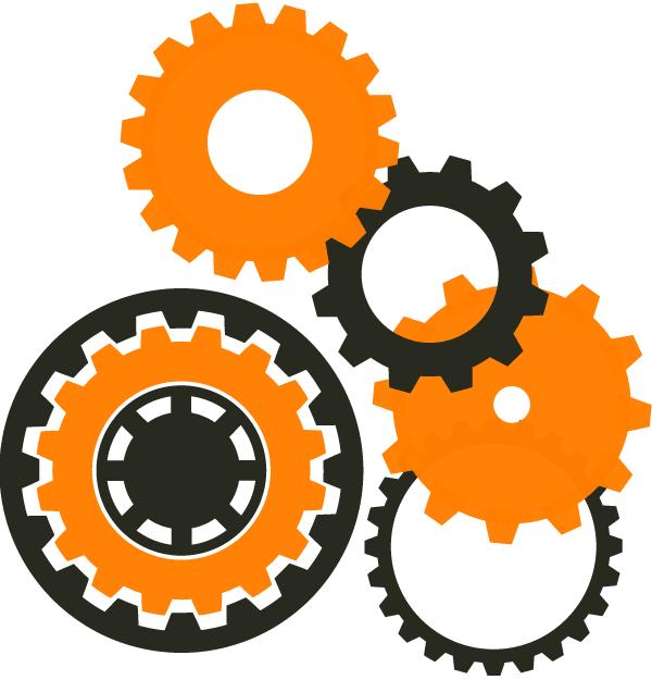 Vector Machine Gear Wheel Resources Download Free Vector