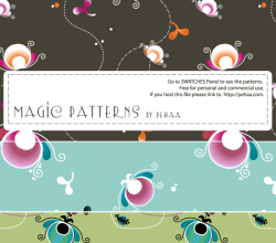 Magic Patterns – Free Photoshop and Illustrator Patterns