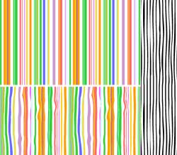Stripes Seamless Pattern Adobe Illustrator Swatches