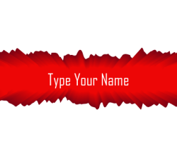 Name Board Vector Free