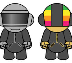 Vector Resource Daft Punk Dolls