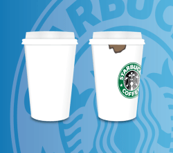 Vector Paper Coffee Cups