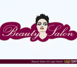 Beauty Salon Logo Free Vector Design