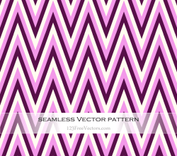 Pink Chevron Seamless Pattern Vector
