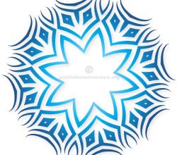 Vector Clip Art Tribal Design