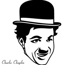 Free Charlie Chaplin Vector Art