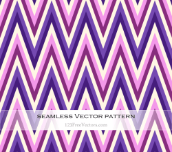 Purple and Pink Zigzag Pattern Background