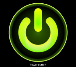 Free Computer Power Button Vector