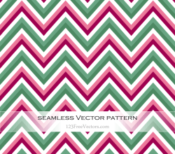 Vintage Chevron Pattern Wallpaper