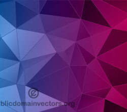 Vector Abstract Polygon Background Illustrator