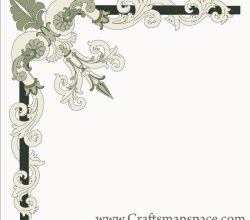 Free Border Corner Ornament Vector