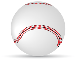 Baseball Vector Clipart