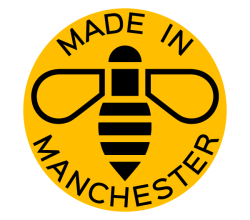 Vector Manchester Bee Logo Design