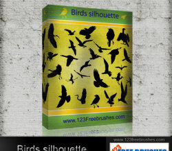 Birds Silhouettes Free Vector Pack