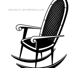 Rocking Chair Clip Art