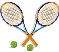 Tennis Racket Vector Image Free