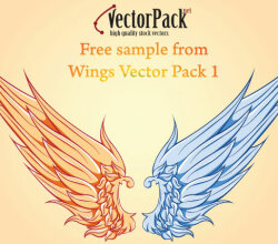 Free Wings Vector