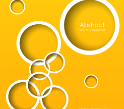 Yellow Circle Background Illustrator