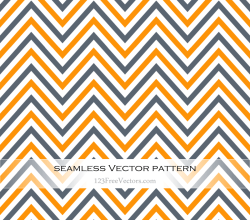 Vector Art Colorful Chevron Pattern