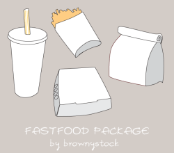 Free Fast Food Vector Graphics