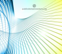 Colorful Abstract Lines Background Vector